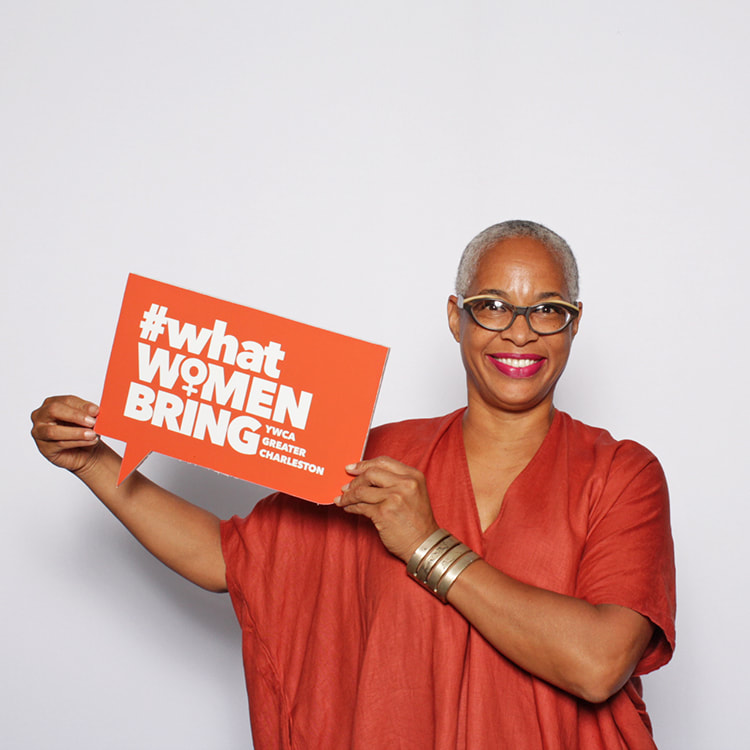 Tina L. Singleton, YWCA Greater Charleston's social justice coordinator